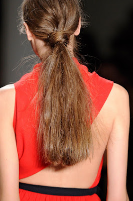 Fall/Winter 2012-2013 Ponytail Trends