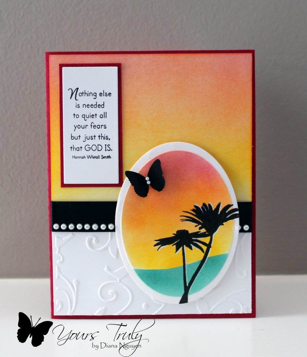 Diana Nguyen, Sweet n Sassy stamps, silhouette card