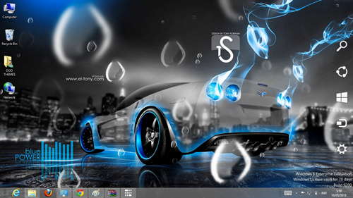 Super Car Theme For Windows 7 And 8