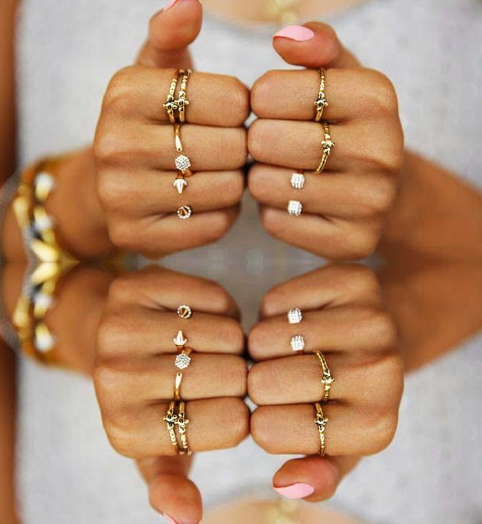 Múltiplos anéis