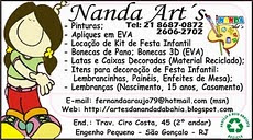 ENDEREO DO ATELI NANDARTS