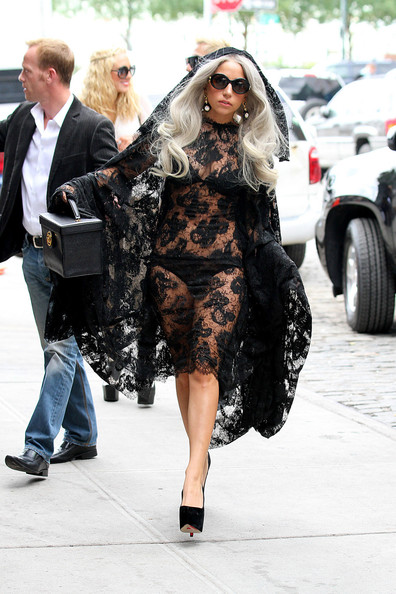 Lady GaGa Channels The Virgin Mary In NYC