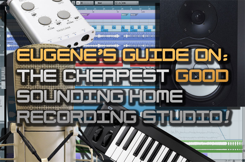 Eugene Getmans Audio Production Diaries The Most Cheap Good Sounding Home Recording Studio At Setup