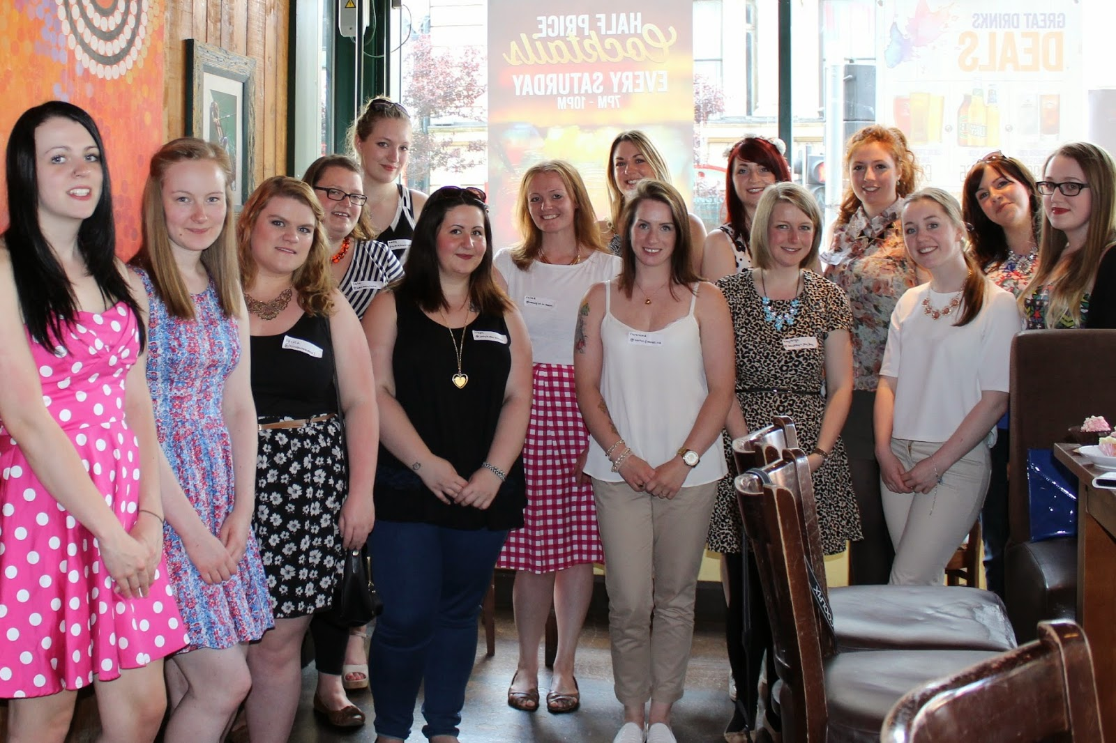 North East Blogger Meet Up - Walkabout Middlesbrough