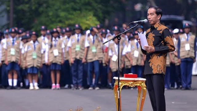 Pesan Jokowi ke Pelajar: Jadilah Pemimpin Teladan, Bukan yang Suka Tawuran