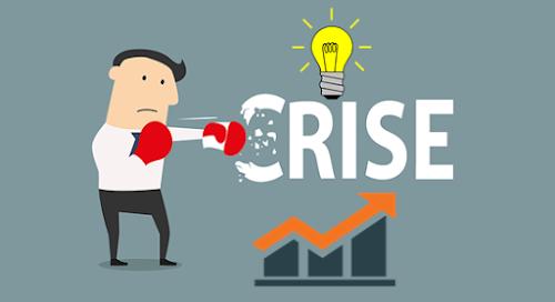 Boa gestão em tempos de crise é difícil, mas é importante para vencer.