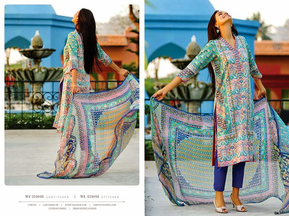 Latest Zeen Spring Lawn Collection 2015