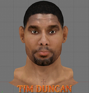 NBA 2K14 Tim Duncan Next-Gen Face Mod