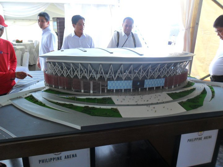 Philippine Arena: 'world's largest domed arena' to rise in the