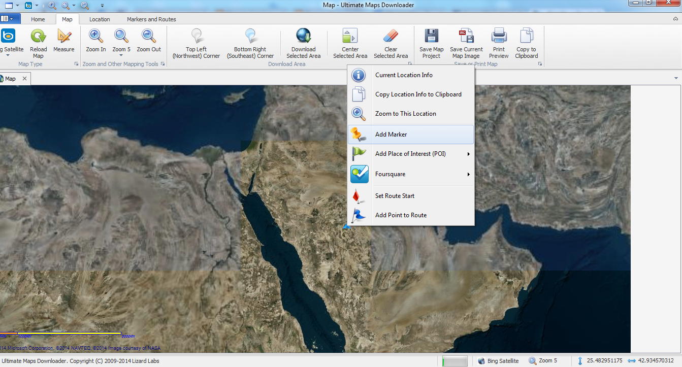 تحميل برنامج Ultimate Maps Downloader 3.0.1