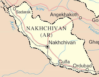 nakhichevan az azeri armenia occupation karabakh