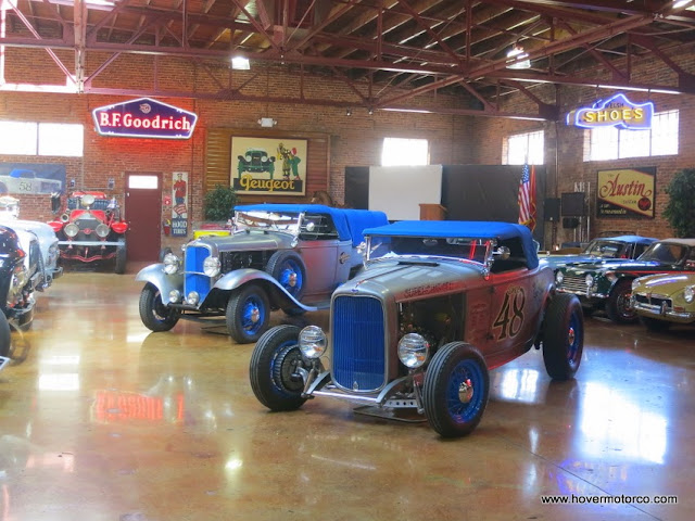 HOVER MOTOR COMPANY Inside The Coker TireHonest Charley Museum - Coker tire car show