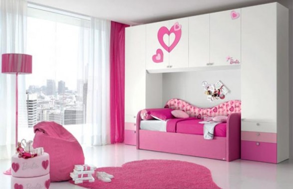 Dormitorio barbie un lugar de ensue o para las ni as for Dormitorio de ensueno
