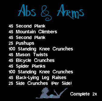 This Is Another One Of The Workouts I Have Been Doing Lately Its Pretty Killer On Abs Just Once It And Was Feeling Burn For Days