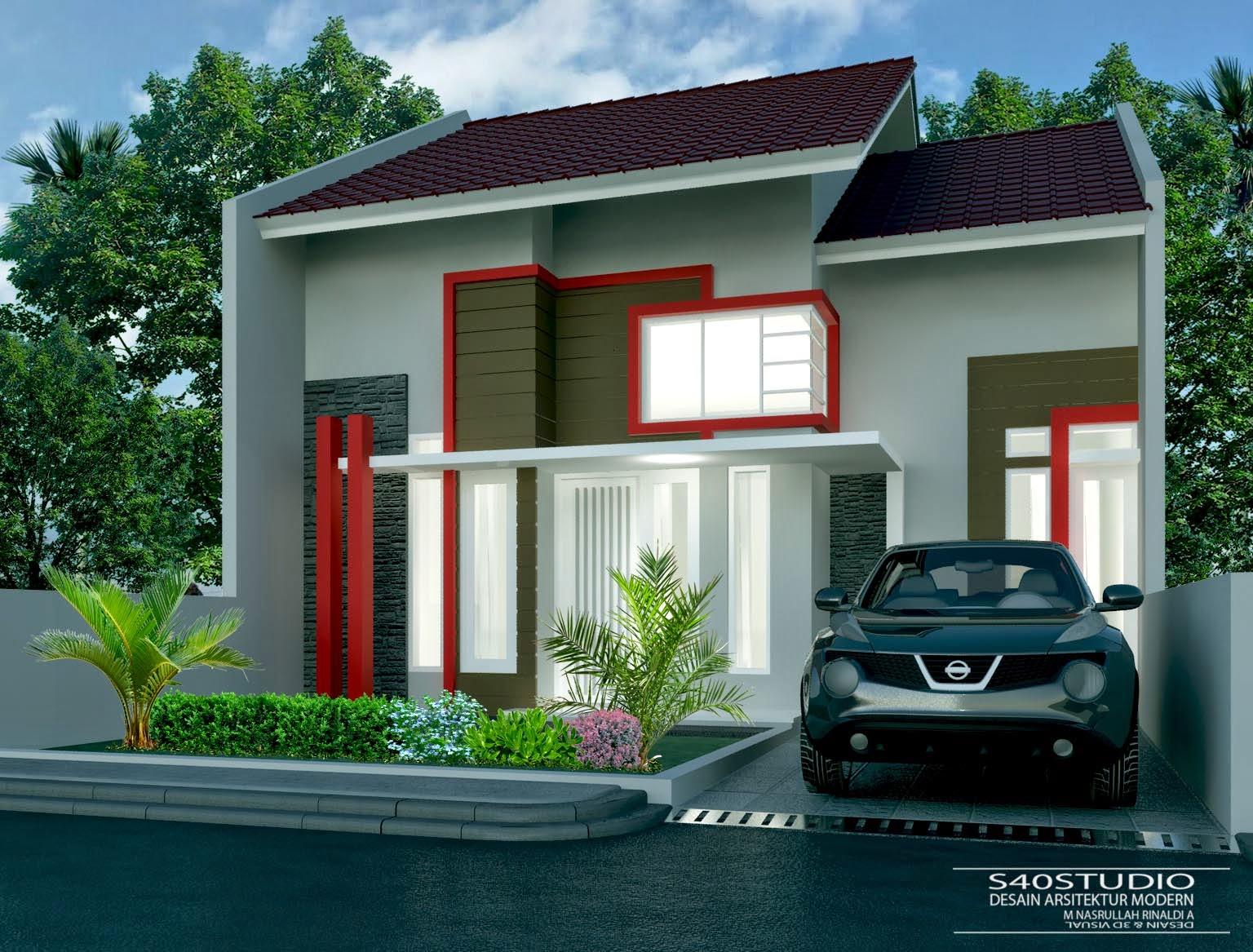 Desain Rumah  Meter Desain Rumah Minimalis Modern Sstudio