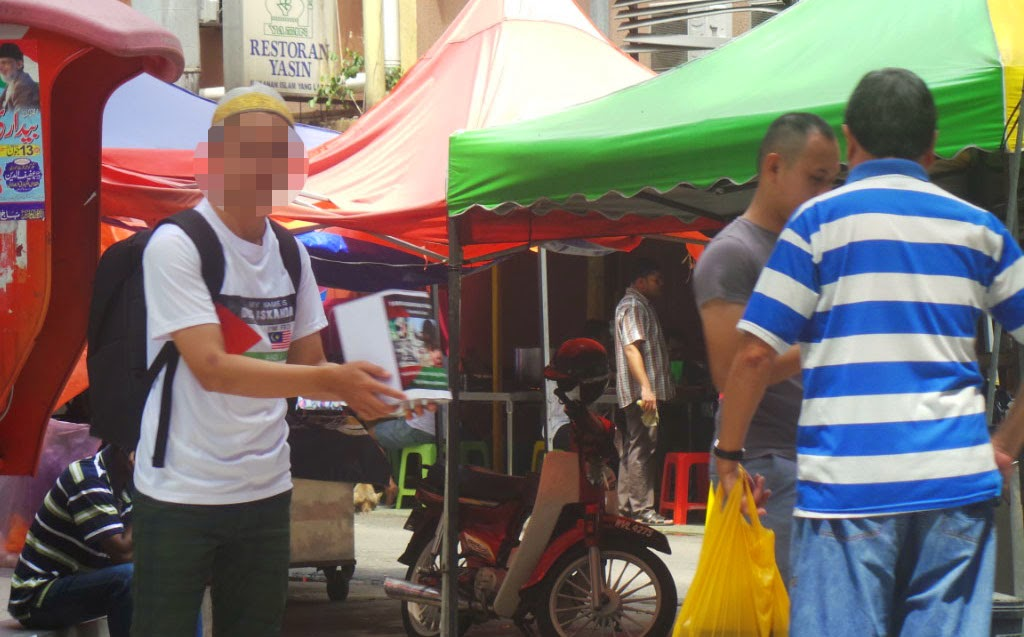 Wartawan ini Hanya Menyamar Sebagai Peminta Derma Palestin Selama 30 Minit Tetapi Kutip RM150 di Malaysia