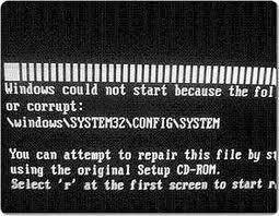 komputer tidak bisa booting