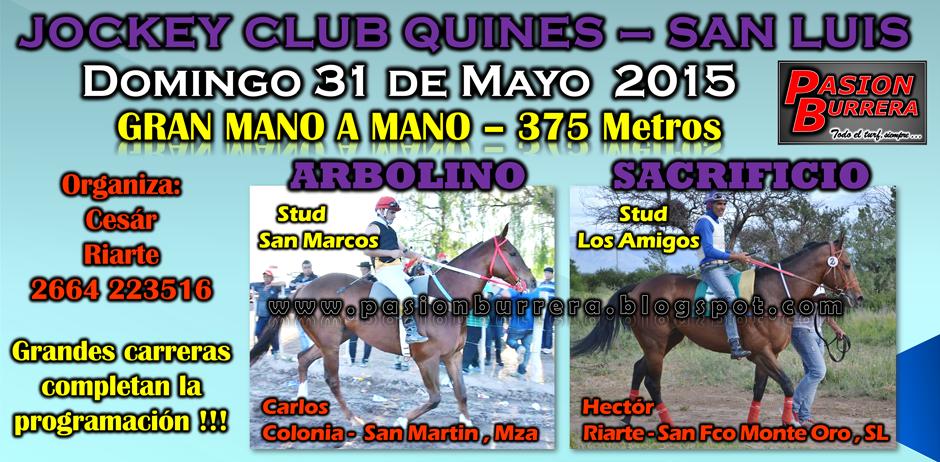 QUINES - 31 de MAYO