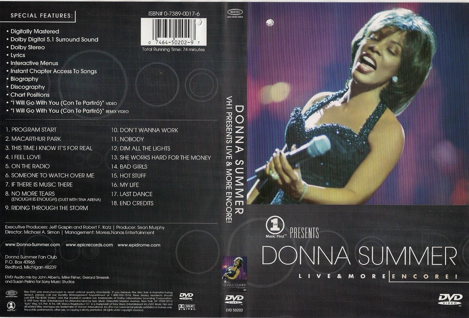 Donna Summer Bad Girls Dim All The Lights