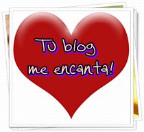 Premio me encanta tu blog