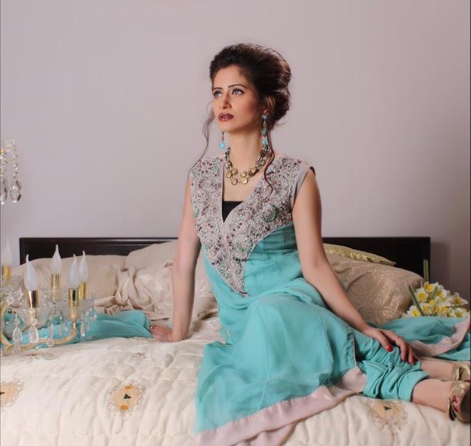 Modern Pakistani Party Silhouette For Women 2012