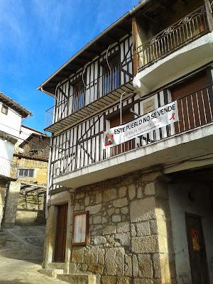 Casas del Conde, este pueblo no se vende, contra la reforma local