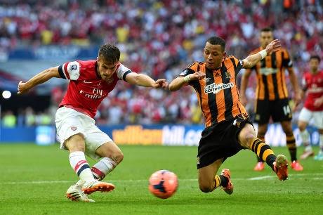 Video Cuplikan Gol Arsenal VS Hull City Final FA Cup