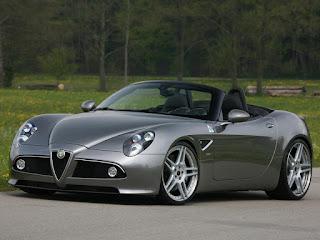Alfa Romeo 8C Spider 2011