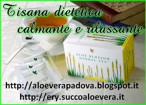 Aloe blossom herbal te- tisana dietetica