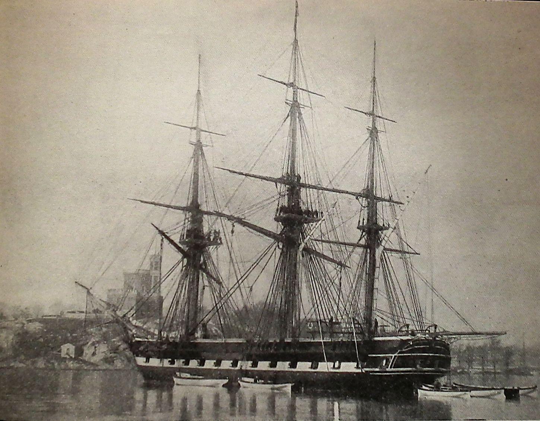 The Things I Enjoy: Early Swedish sail training ships