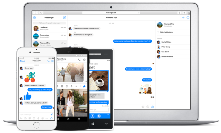 فيسبوك يطرح منصة Messenger على الحاسوب بمميزات رائعة