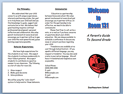 brochure template for word