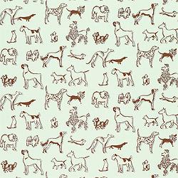 Hudson Baby Design Cute Pooch Dog Wallpaper