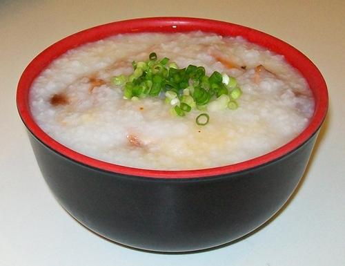 Wanchai asado congee porridge
