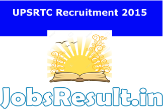 UPSRTC Recruitment 2015