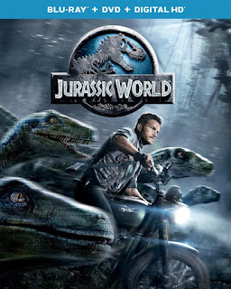Jurassic World Blu-ray And DVD