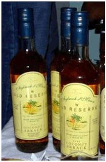 alcool au Sri Lanka