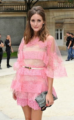 1e541773a29a The gorgeous Olivia Palermo and her ultra dapper boyfriend Johannes Huebl  arrived at the Valentino Couture fashion show in Paris this week looking  nothing ...