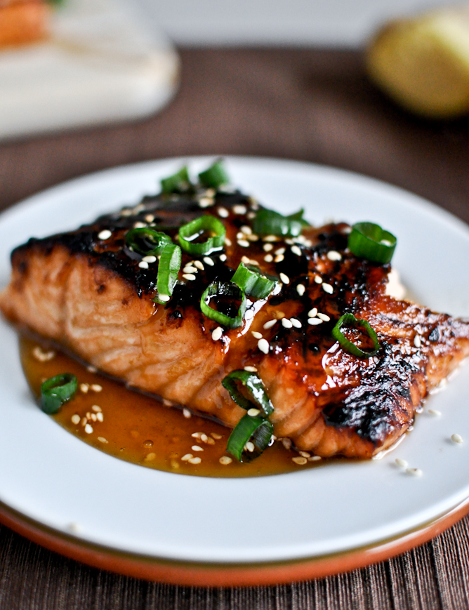 Cooking Pinterest: Toasted Sesame Ginger Salmon