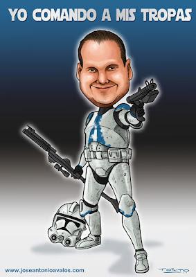 stormtrooper caricature