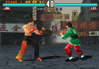 Tekken 3 Jin vs. Lei