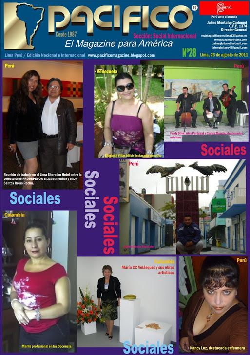 Revista Pacífico Nº 28 Social Internacional
