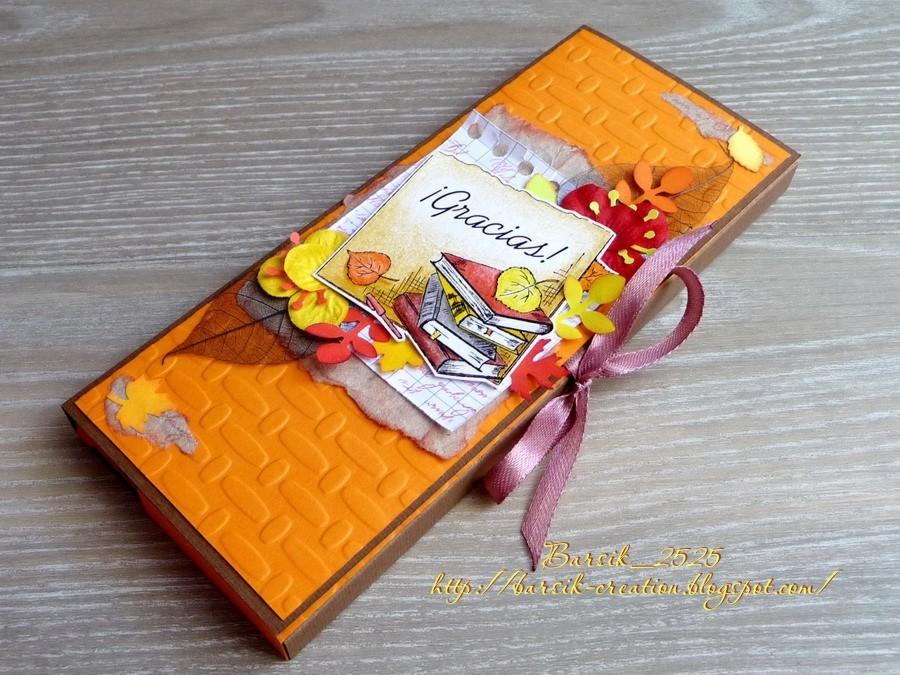 шоколадница с днём учителя, сладкий подарок своими руками, ручная работа
