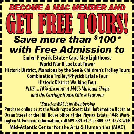 Cape May Trolley Tour Coupon