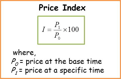index numbers Economists frequently use index numbers when making comparisons over time  an index starts in a given year, the 'base year', at an index number of 100.