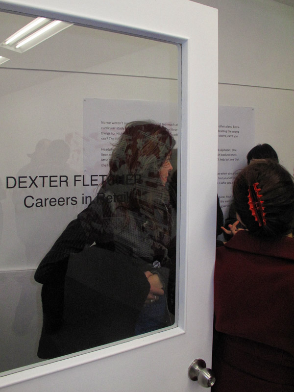 Door, Dexter Fletcher - Careers in Retail