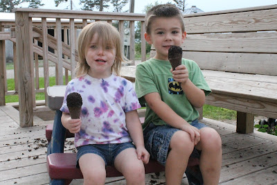 Enjoying the final days of summer, down to the last cone #FinalConeDown #ad
