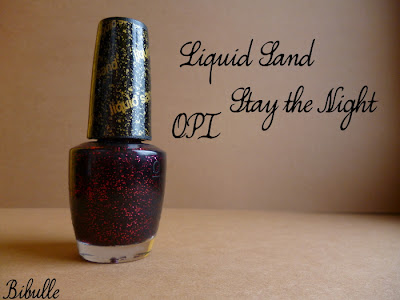 OPI - Liquid Sand collection Mariah Carey - Stay the night