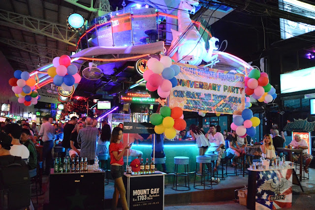 Bangla Road Patong bar