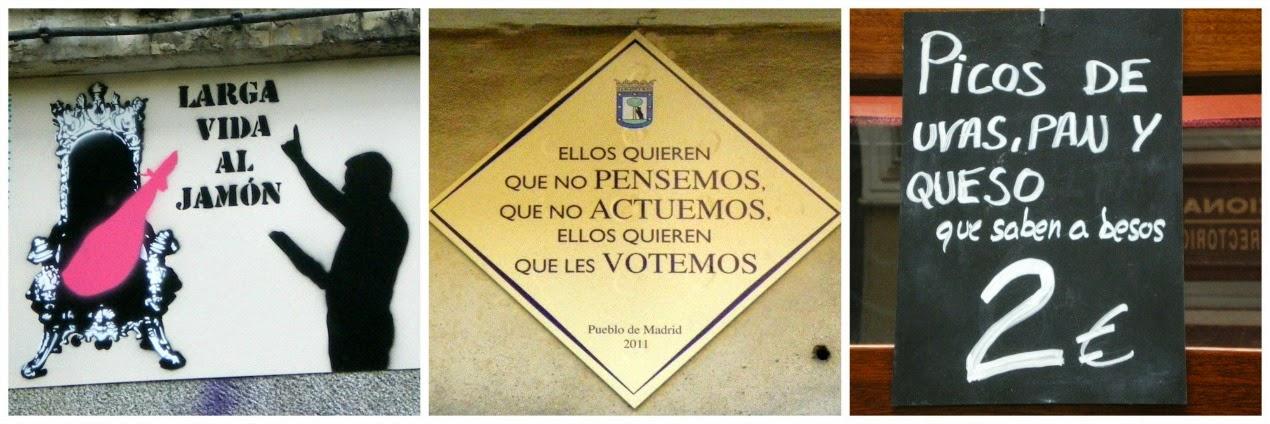 Aprende español callejeando por Madrid